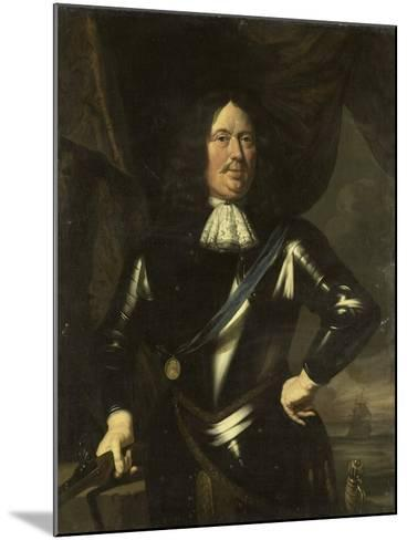 Portrait of an Admiral, Possibly Adriaen Banckert, Vice-Admiral of Zeeland--Mounted Art Print