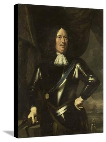 Portrait of an Admiral, Possibly Adriaen Banckert, Vice-Admiral of Zeeland--Stretched Canvas Print