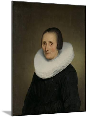 Portrait of Margaretha De Geer, Wife of Jacob Jacobsz. Trip-Jacob Gerritsz Cuyp-Mounted Art Print