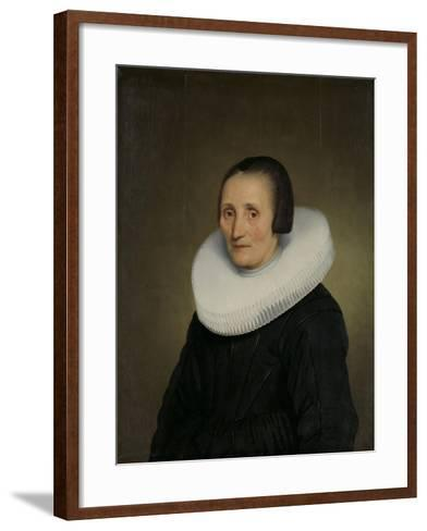 Portrait of Margaretha De Geer, Wife of Jacob Jacobsz. Trip-Jacob Gerritsz Cuyp-Framed Art Print