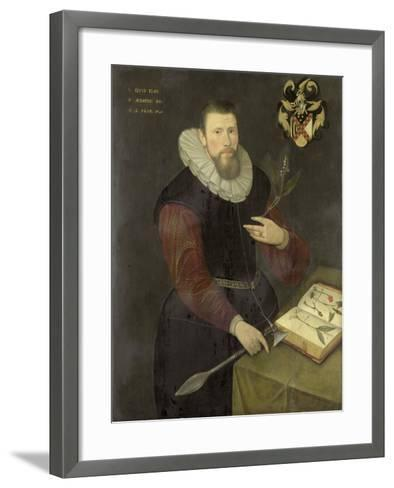 Portrait of a Botanist--Framed Art Print