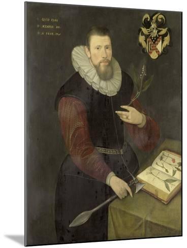 Portrait of a Botanist--Mounted Art Print