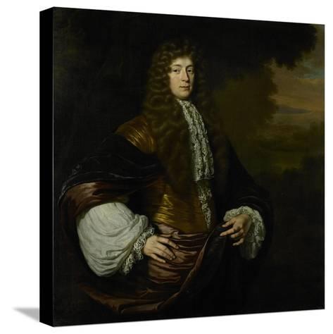 Portrait of Hendrick Bicker, Burgomaster of Amsterdam-Michiel Van Musscher-Stretched Canvas Print