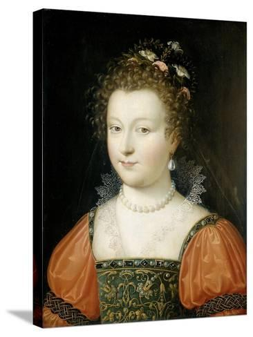 Portrait of a Woman (Previously Identified as Queen Elizabeth I)--Stretched Canvas Print
