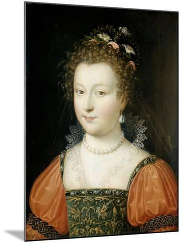 Portrait of a Woman (Previously Identified as Queen Elizabeth I)--Mounted Art Print