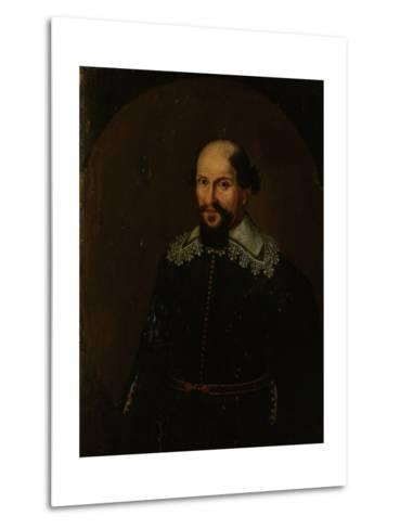 Portrait of Jacques Specx, Governor-General of the Dutch East Indies--Metal Print