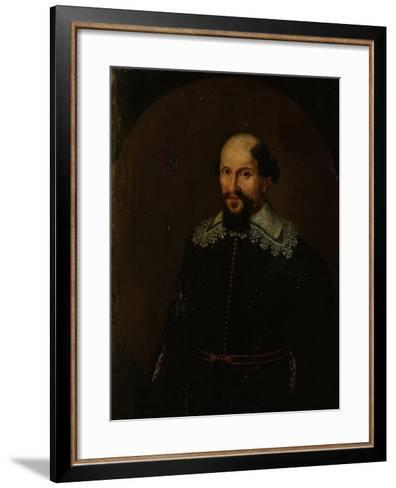 Portrait of Jacques Specx, Governor-General of the Dutch East Indies--Framed Art Print