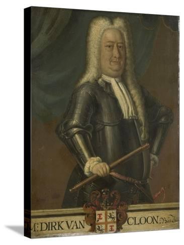 Portrait of Dirk Van Cloon, Governor-General of the Dutch East Indies-Hendrik van den Bosch-Stretched Canvas Print