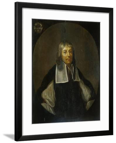 Portrait of Joan Maetsuyker, Governor-General of the Dutch East Indies-Jacob Coeman-Framed Art Print