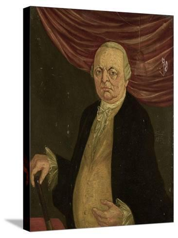Portrait of Reinier De Klerk, Governor-General of the Dutch East India Company-Franciscus Josephus Fricot-Stretched Canvas Print