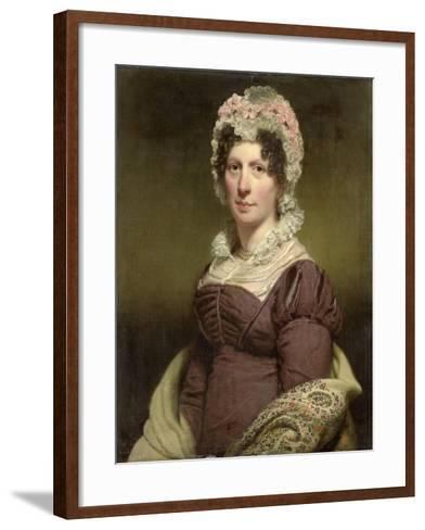 Portrait of a Woman-Charles Howard Hodges-Framed Art Print