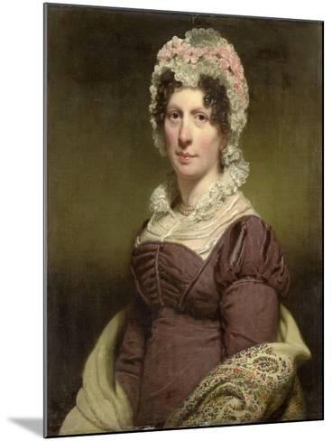 Portrait of a Woman-Charles Howard Hodges-Mounted Art Print