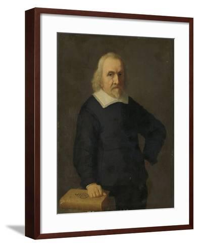 Portrait of a Man--Framed Art Print
