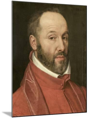 Portrait of Antoine Perrenot, Cardinal De Granvelle, Minister to Charles V and Philip II--Mounted Art Print
