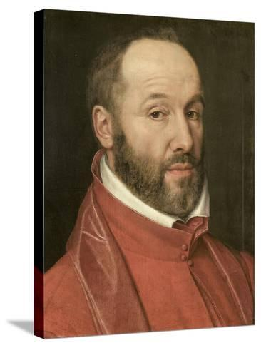 Portrait of Antoine Perrenot, Cardinal De Granvelle, Minister to Charles V and Philip II--Stretched Canvas Print