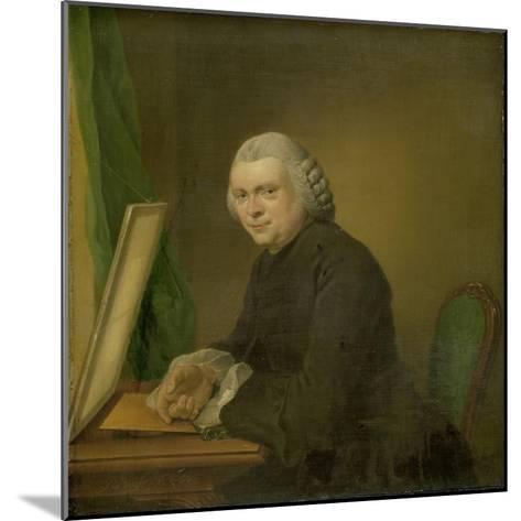Portrait of Cornelis Ploos Van Amstel-Jacobus Buys-Mounted Art Print