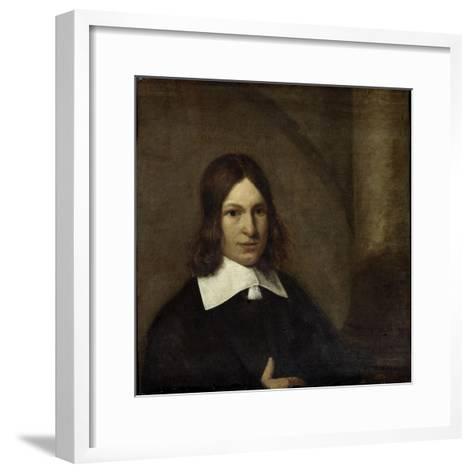 Self- Portrait-Pieter de Hooch-Framed Art Print