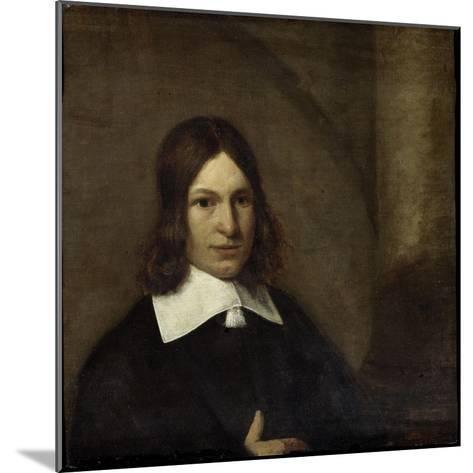 Self- Portrait-Pieter de Hooch-Mounted Art Print