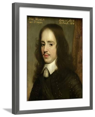 Portrait of William II, Prince of Orange-Gerard Van Honthorst-Framed Art Print