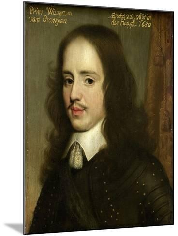 Portrait of William II, Prince of Orange-Gerard Van Honthorst-Mounted Art Print