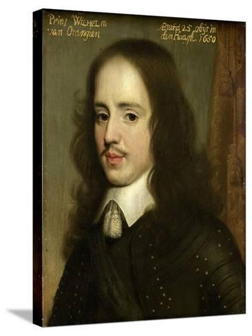 Portrait of William II, Prince of Orange-Gerard Van Honthorst-Stretched Canvas Print