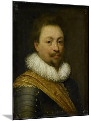 Portrait of William, Count of Nassau-Siegen-Jan Antonisz van Ravesteyn-Mounted Art Print
