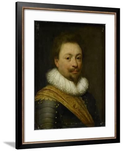 Portrait of William, Count of Nassau-Siegen-Jan Antonisz van Ravesteyn-Framed Art Print