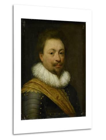 Portrait of William, Count of Nassau-Siegen-Jan Antonisz van Ravesteyn-Metal Print