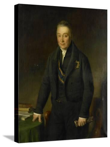 Portrait of Count Adam-Francois-Jules-Armand Van Der Duyn Van Maasdam-Jean-Baptiste Van der Hulst-Stretched Canvas Print