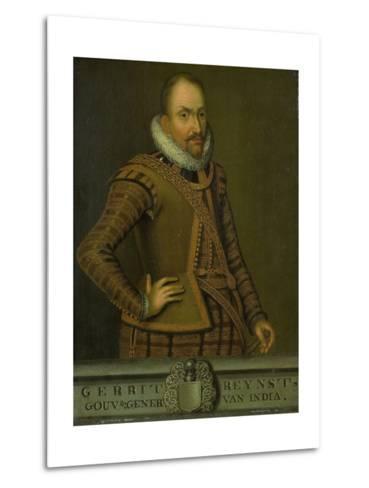 Portrait of Gerard Reynst, Governor-General of the Dutch East Indies--Metal Print
