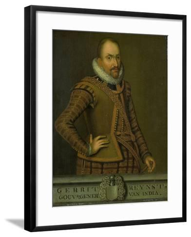 Portrait of Gerard Reynst, Governor-General of the Dutch East Indies--Framed Art Print