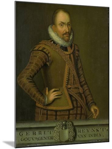 Portrait of Gerard Reynst, Governor-General of the Dutch East Indies--Mounted Art Print