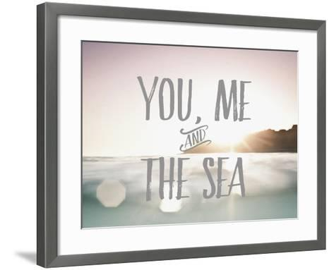 You Me + The Sea-Rebecca Peragine-Framed Art Print