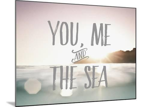 You Me + The Sea-Rebecca Peragine-Mounted Art Print