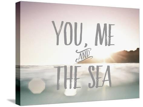 You Me + The Sea-Rebecca Peragine-Stretched Canvas Print