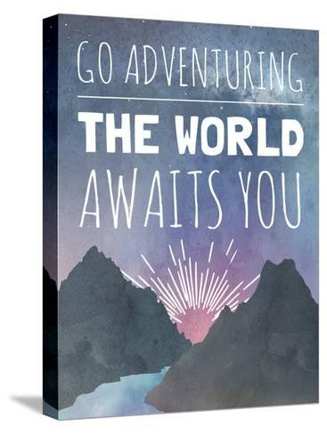 The World Awaits You-Megan Jurvis-Stretched Canvas Print