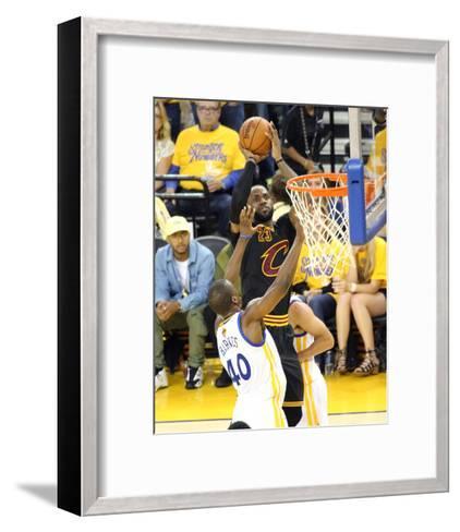2016 NBA Finals - Game 5-Bruce  Yeung-Framed Art Print