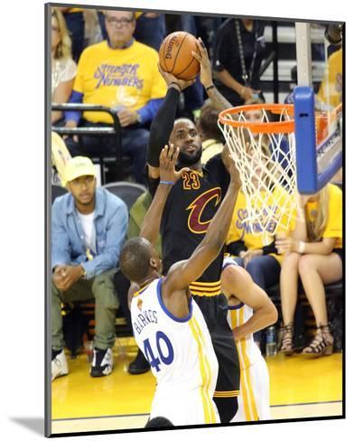 2016 NBA Finals - Game 5-Bruce  Yeung-Mounted Photo