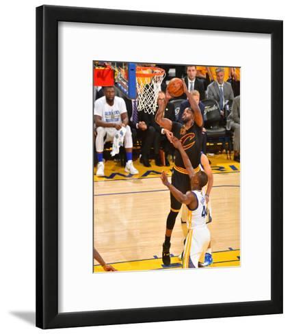 2016 NBA Finals - Game 5-Jesse D Garrabrant-Framed Art Print