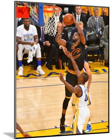 2016 NBA Finals - Game 5-Jesse D Garrabrant-Mounted Photo