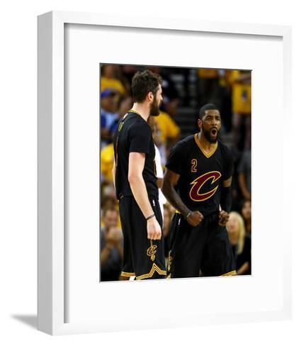 2016 NBA Finals - Game Five-Ezra Shaw-Framed Art Print