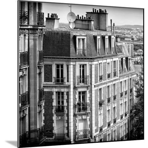 Paris Focus - Montmartre Architecture-Philippe Hugonnard-Mounted Photographic Print