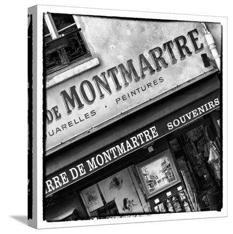 Paris Focus - Montmartre Souvenirs-Philippe Hugonnard-Stretched Canvas Print