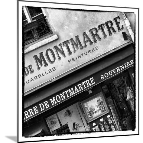 Paris Focus - Montmartre Souvenirs-Philippe Hugonnard-Mounted Photographic Print