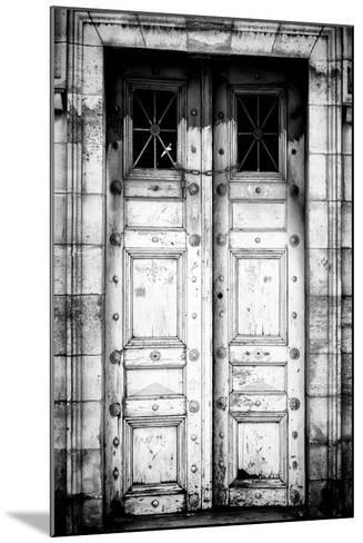 Paris Focus - Old White Door-Philippe Hugonnard-Mounted Photographic Print