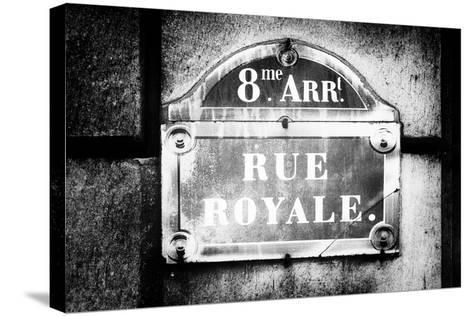 Paris Focus - Rue Royale-Philippe Hugonnard-Stretched Canvas Print