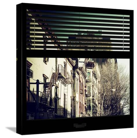 View from the Window - New York Winter-Philippe Hugonnard-Stretched Canvas Print
