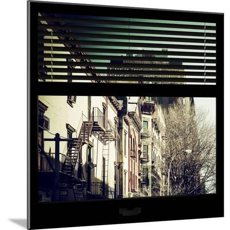 View from the Window - New York Winter-Philippe Hugonnard-Mounted Photographic Print