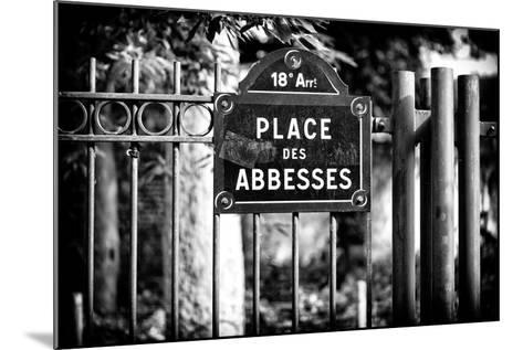 Paris Focus - Place des Abbesses - Montmartre-Philippe Hugonnard-Mounted Photographic Print