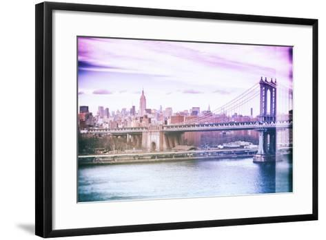 Pastel Series - New York City-Philippe Hugonnard-Framed Art Print